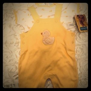 """NWT Carter's baby, 2 piece """"Duckie"""" Outfit"""